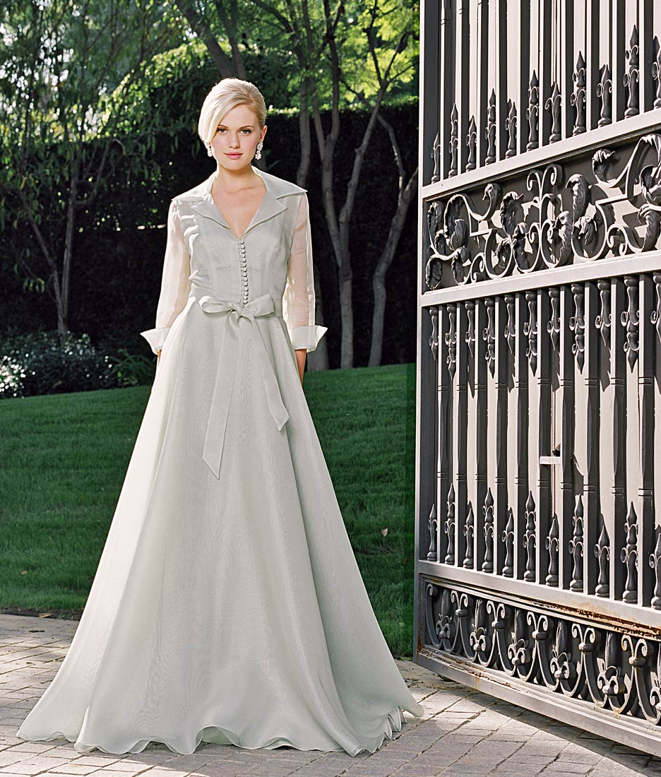 Color wedding dress judy lee bridal for Wedding dresses downtown la