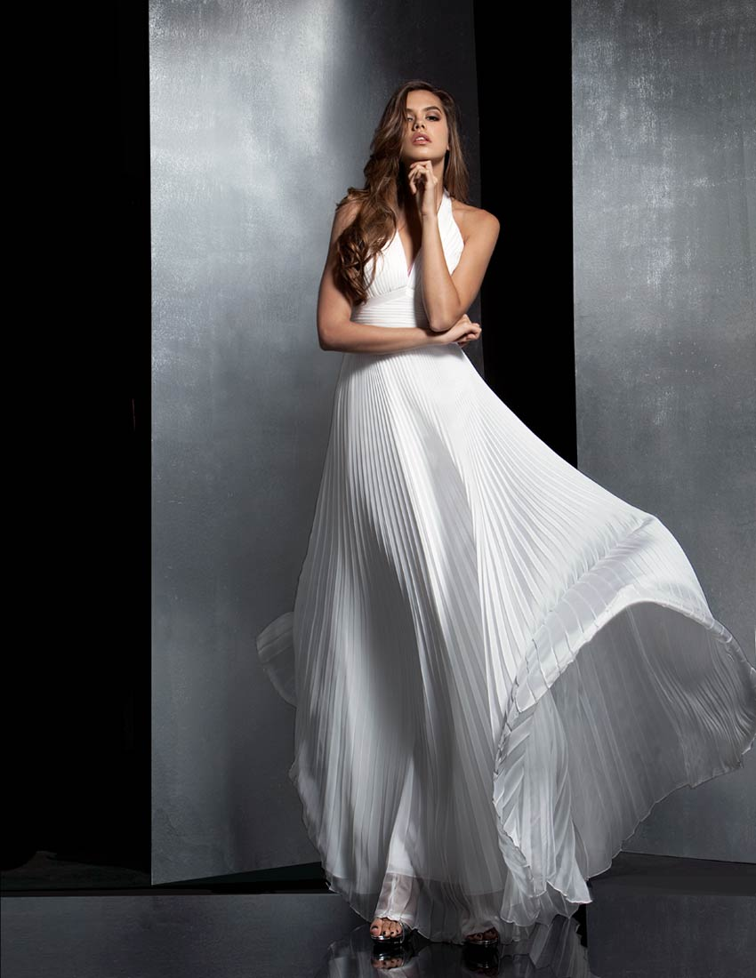 Unusual Wedding Dress - Judy Lee Bridal