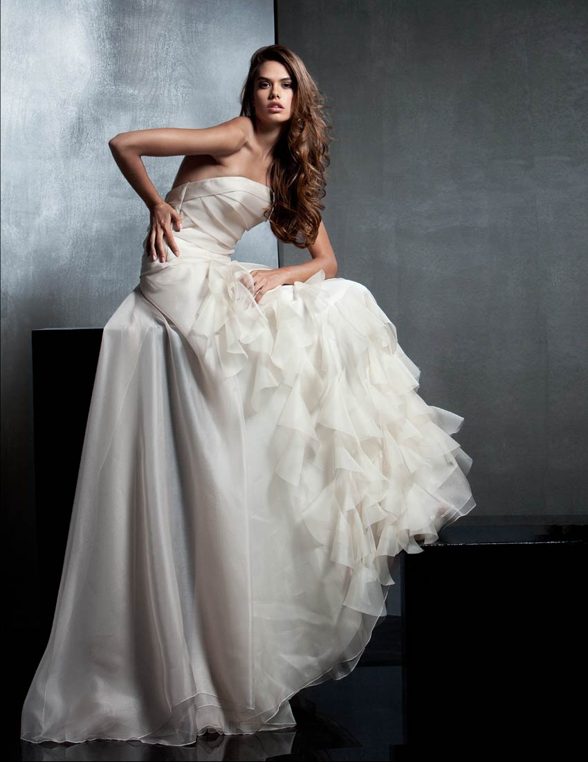 Unusual Wedding Dress Judy Lee Bridal